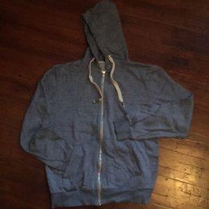 H&M blue hoodie